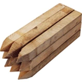 20 Pack 12 300mm Treated Site Pegs Wooden Stakes Posts Pegs