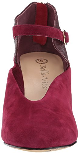 CROCO Women's Dress Vita KID BURGUNDY Bella SUEDE Pump Neve T8wR4q4xHB