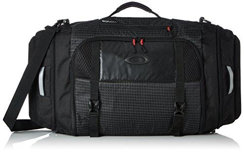 Oakley Mens Link Duffel Bag One Size Jet - Travel Bag Oakley