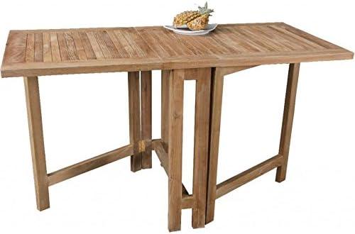 cinas Mesa plegable Butterfly Terraza mesa mesa de madera mesa ...