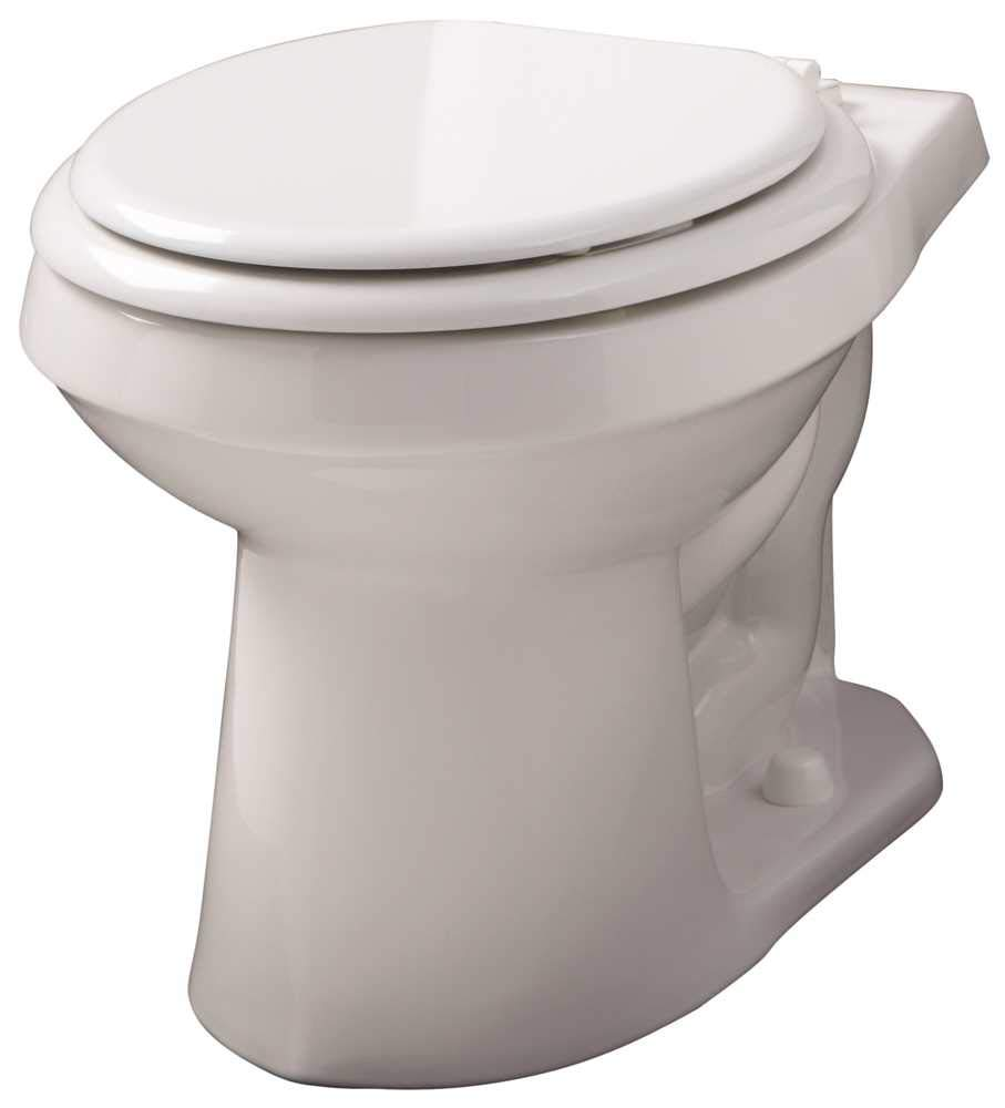 Gerber Plumbing VP-21-552 Gerber Viper Watersense High-Efficiency Siphon Jet Toilet Bowl with Round Front, 1.6 Gpf/1.28 Gpf, White - 2463447 by Gerber Plumbing