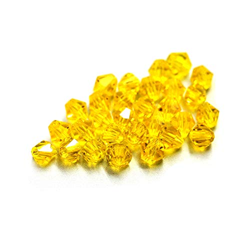 iZasky Glass Crystal Beads 4mm (0.16