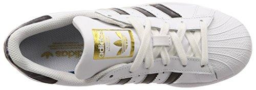 Bianco adidas da Scarpe 000 Fitness Blanco Uomo Superstar qHwBnXxrH