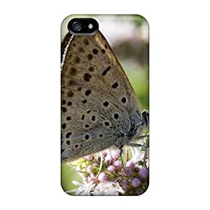 New Premium Flip Cases Covers Butterfly Horse Mint Animal Skin Cases For Iphone 5/5s