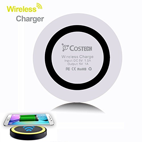 Costech Wireless Charger Qi compliant black white