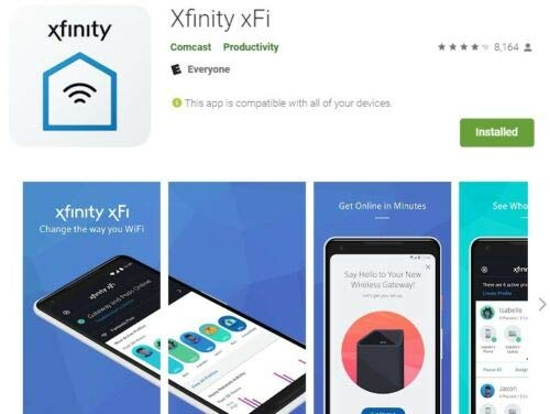 Comcast Xfinity xFi Pods WiFi Network Range Extenders - Only Compatible  with Xfinity Rented Routers, Not Compatible with Customer Owned Routers