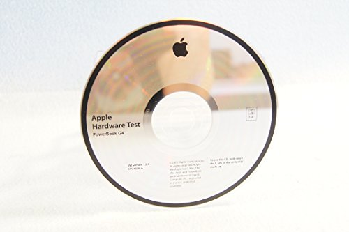 Apple Hardware Test Power Mac G4: Genuine Macintosh Mac Part Number: 691-4076-A: SW Version 1.2.3-Apple Operating System Computer Software Program Replacement Disc PC