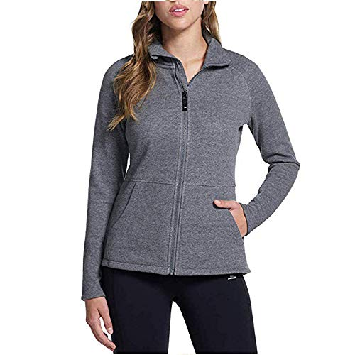 Skechers Performance Ladies' Go Walk Full Zip Fleece (Gray, Large)