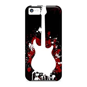 Protector Hard Phone Case For Iphone 5c With Allow Personal Design High Resolution Guns N Roses Pictures JamesKrisky