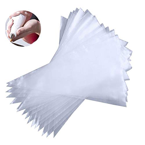 Piping Bags - 50Pcs/Lot Roll Disposable Thickened Cream Cake Embroidery Flower Bag Tear-off Pastry Bags Upset 7 Silk Cake Icing Piping Bag by Piping Bags (Image #5)