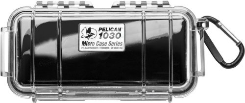 Pelican 1030 Micro Waterproof Case for cell phone, GoPro, camera, and more - Case 1030 Waterproof