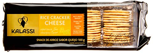 Snack Tai Kalassi Rice Crackers Cheese Kalassi Sabor Outro