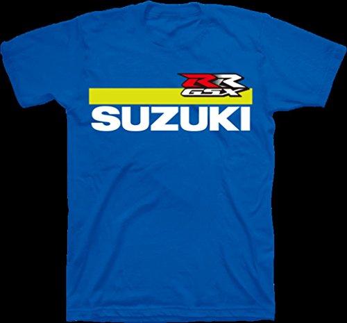 Suzuki GSX-RR MotoGP Short Sleeve T-Shirt Blue
