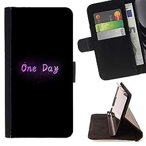 King Case - FOR LG Nexus 5 D820 D821 - one day - Prima caja de la PU billetera de cuero con ranuras para tarjetas, efectivo Compartimiento desmontable y correa para la mu?eca