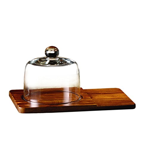 American Atelier Madera Cheese Board Set, - Domed Cheese