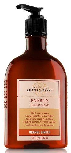 Ванна и Body Works Ароматерапия Оригинал Orange Ginger энергии мыло для рук 8 унций (236 мл)