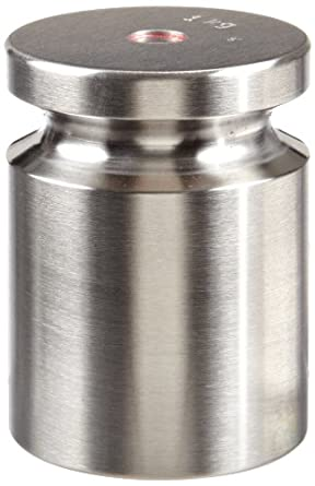 Rice Lake Stainless Steel Electronic Balance Calibration Weight Kit, ASTM Class 4, 1000g Mass