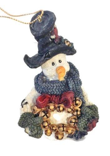 - Boyd's Bear Jingles the snowman w/wreath