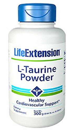 Life Extension Taurine Grams Powder, 300 Gram