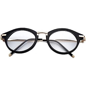 Amazon.com: Non Prescription Fashion Eyeglasses Round