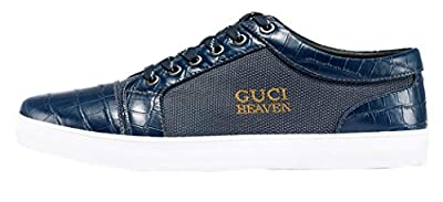 Guciheaven Mens 2015 New British Style Low Top Lace-up Fashion Casual Leather Flats Shoes