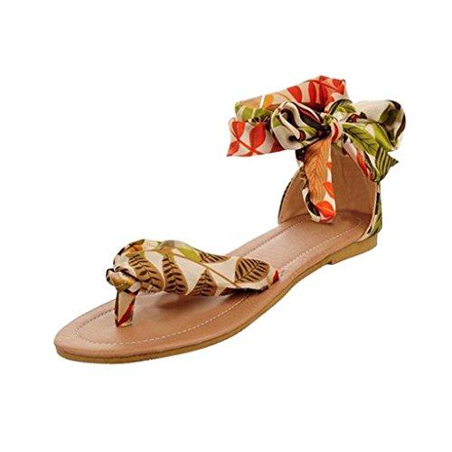 Damenschuhe Damen Neu Flattie mit Bohrer Aussenhandel Schuhe Sommer Sandalen Bequeme Schuhe Frauen Hausschuhe Coloured Schnuerschuhe Gelb
