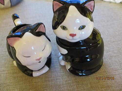 do Cat Cream and Sugar Bowl,Ceramic Cat Sugar Creamer,Cat Lover Gift, Grandma Gift, Mom Gift ()