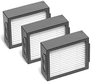 MIRTUX Pack 3 filtros para Roomba E5 / i7. Kit de repuestos de ...