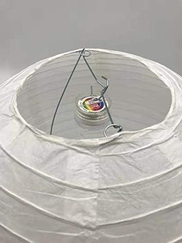 10 St/ück Mini LED-Ballons Lichter,RGB Wasserdichte Batteriebetriebene Laternenlichter Mit Fernbedienung F/ür Papierlaternen Luftballons Startseite Hochzeit Dekoration