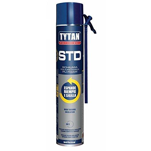 Sellador y espuma de poliuretano profesional TYTAN alto llenado 750 Ml: Amazon.es: Bricolaje y herramientas