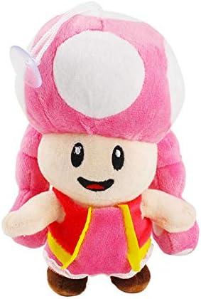 Poooc Juguete de algodón PP de dibujos animados 18cm animado Super Mario Bros Toadette Peluches Muñeca Super Mario Bros felpa rellena suave del bebé Juguetes de Navidad realista regalo: Amazon.es: Bricolaje y