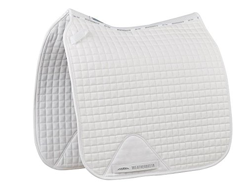 Weatherbeeta Prime Dressage Saddle Pad White Full for sale  Delivered anywhere in USA