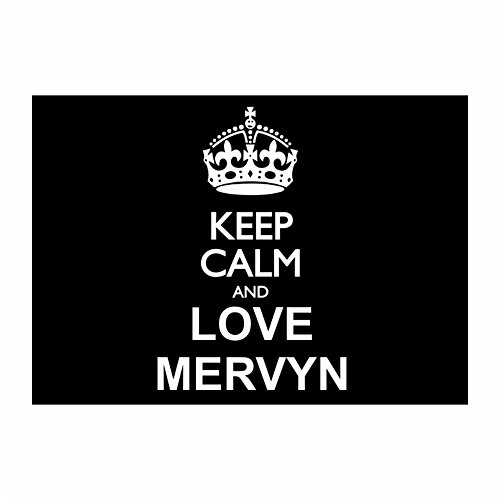 teeburon-keep-calm-and-love-mervyn-pack-of-4-stickers