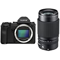 Fujifilm GFX 50S 51.4MP Medium Format Mirrorless Camera (Body Only) with Electronic Viewfinder, Full HD 1080p Video - With Fujifilm FUJINON GF 120mm F/4 R LM OIS WR Macro Lens