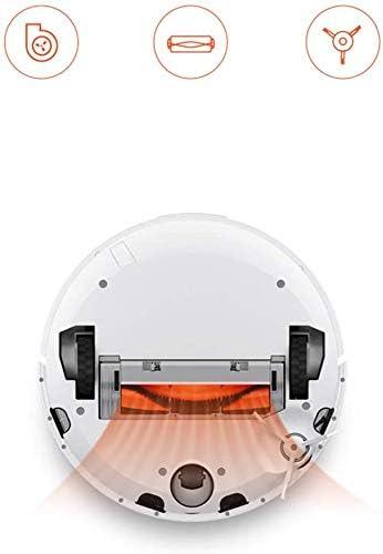 AMYD Aspirateur Automatique/Aspirateur Robot, Télécommande App, Interaction Vocale, Grand Aspirateur 1800Pa, Batterie Au Lithium 5200Mah, Navigation Intelligente Laser