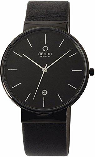 OBAKU watch 3 hands Date V153GDBBRB Men's