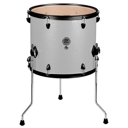 ddrum D2R FT 12X14 SILVER SPKL Series Sparkle Floor Tom Drum Set, Silver