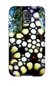 Galaxy S5 YY-ONE Black And White Sea Star Case - Eco-friendly Packaging