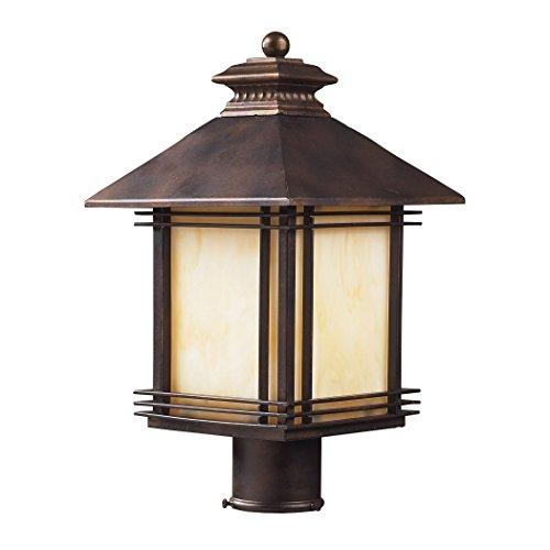 Alumbrada Collection Blackwell 1 Light Outdoor Post Lamp In Hazelnut Bronze