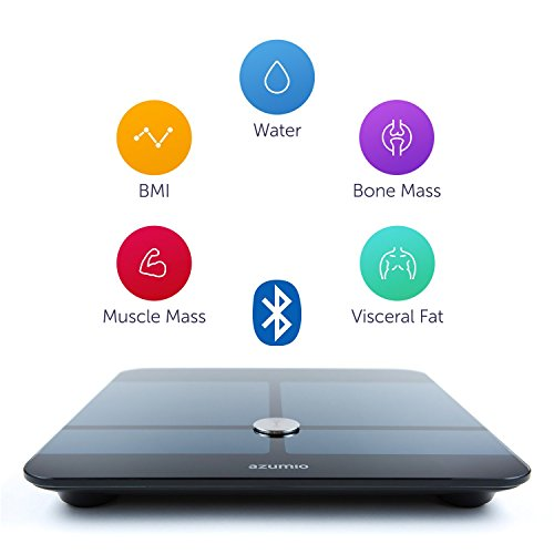 Azumio Smart Weight and Body Fat Bluetooth Digital Scale with App - Apple Health Compatible by Azumio (Image #1)