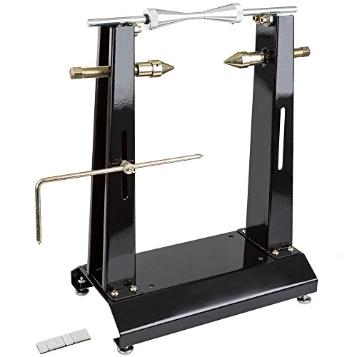Black Widow Wheel Balancer Stand with Truing Arm (Balancer Motorcycle Wheel)