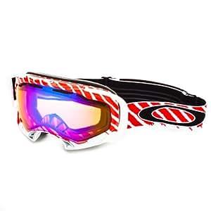 Oakley Goggles 57-604 Highlight Red Splice Visor Goggles Size Medium