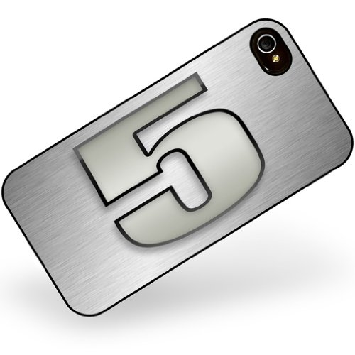 iphone 4 4s 5 number as apple gray - Neonblond