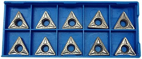 10 PC 1//2/'/' Shank C6 Carbide Inserts for Indexable Turning Tool Bit TCMT 32.52