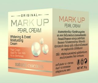 Pearl Shell Finish (MARK UP PEARL CREAM - Whitening & Event Moisturizing Cream)