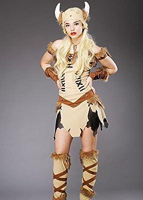Traje de princesa vikinga adulto mujer: Amazon.es: Juguetes y juegos