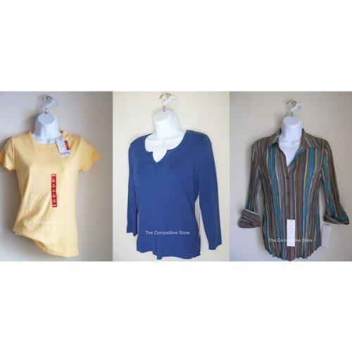 Waist Long EZ-Mannequins CS-AZ-P76-W XS57-W Store Female Torso White