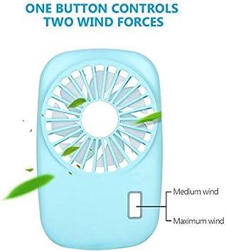Mini Slim Fan Small Portable Handheld Fan Camera Fan Speed Adjustable USB Charging Fan Suitable for Children//Men//Female//Home Office Outdoor Travel-Pink