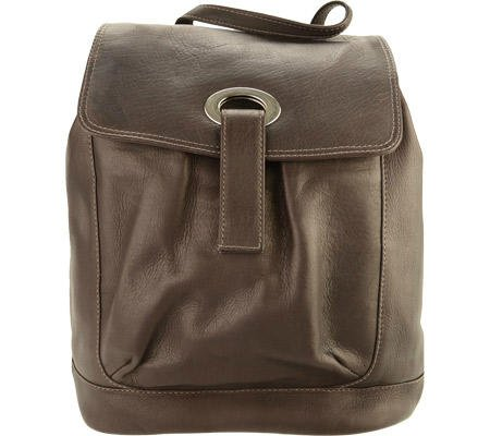 piel-leather-large-oval-loop-backpack-chocolate-one-size
