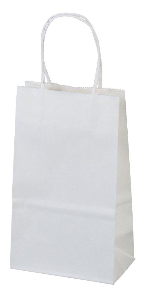 Amazon.com: Bagsource bolsas de papel blanco para ...